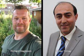 Richard Slagboom en Ohran Yilmaz
