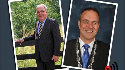 Wim van Leussen en Jaap Paans