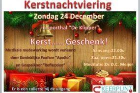 Zondag 24/12 Kerstnachtviering
