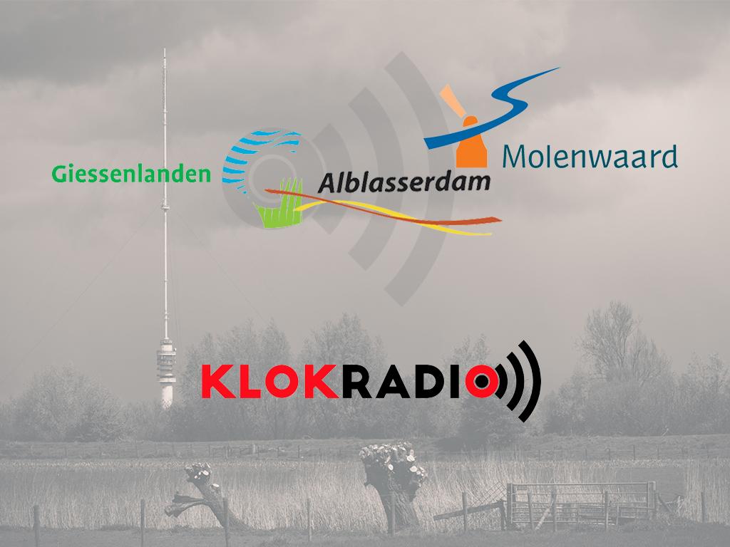 Klokradio ook omroep van Giessenlanden!