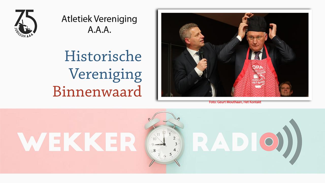Zaterdag 1/2 Wekkerradio en extra uitzending